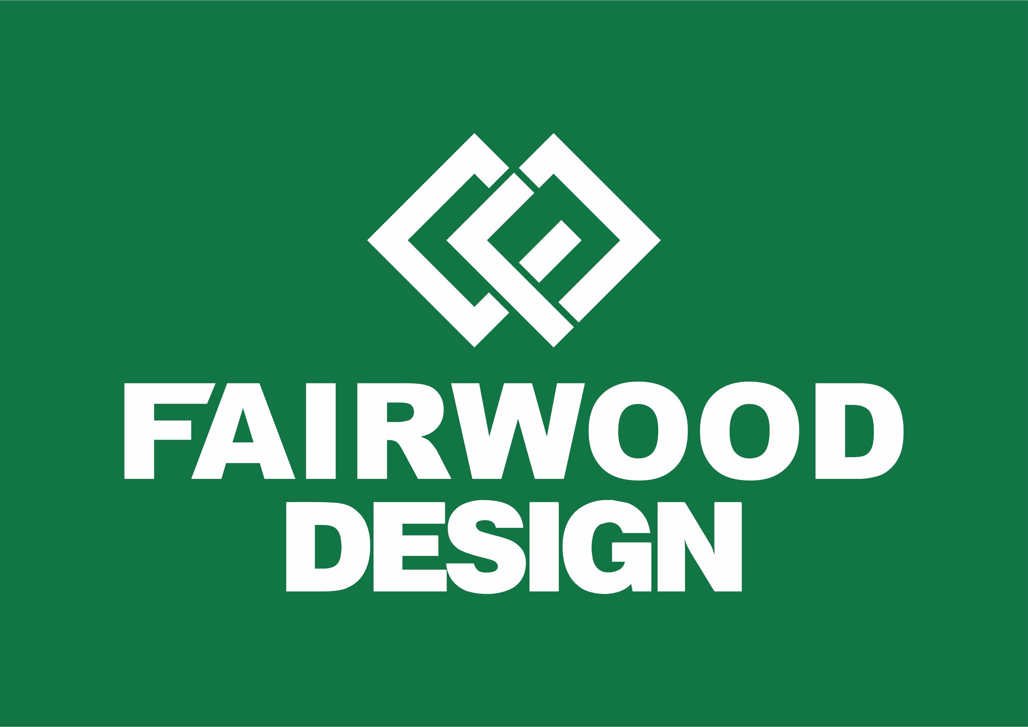 Fairwood logo Negative
